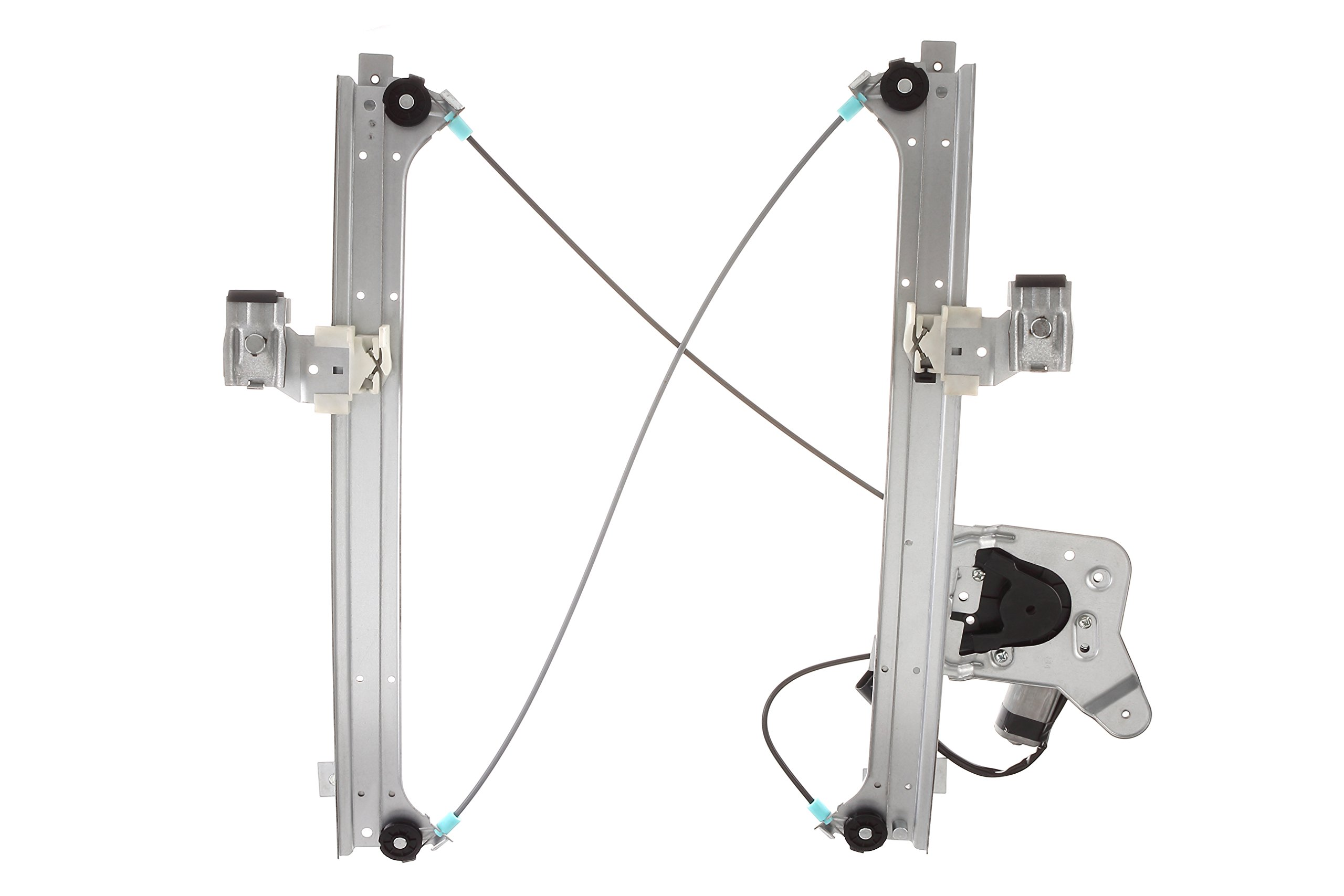 741-579 Rear Right Passenger Side Replacement Power Window Regulator with Motor Assembly for Chevy Silverado 1500 Classic /& Cadillac Escalade GMC Sierra 1500 Classic 99-07 Silver