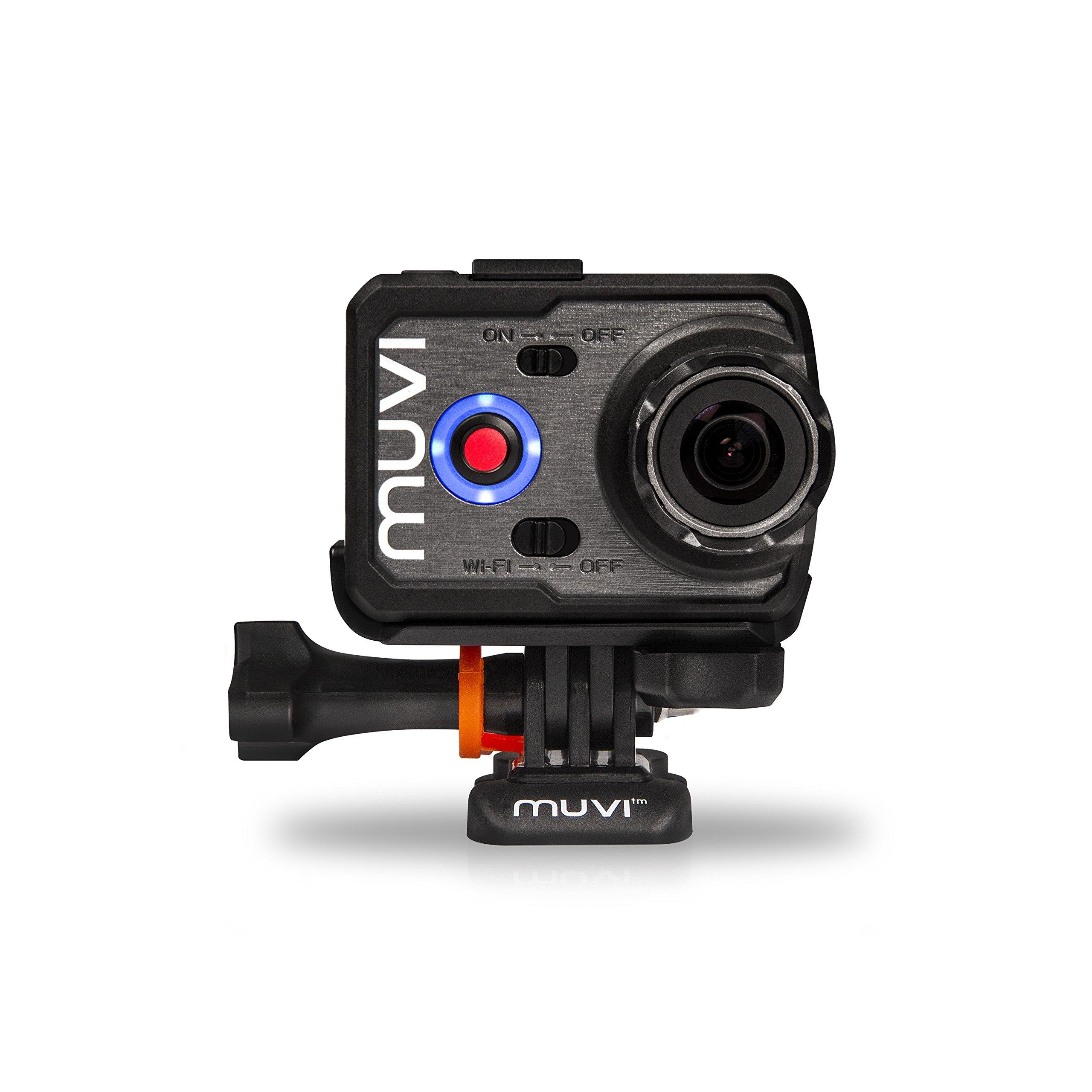 Compatible with Veho MUVI HD DURAGADGET Quality Action Camera Helmet Mount VCC-004-ATOM-NPNG Super Micro /& VCC-005-MUVI-NPNG MUVI HD Mini VCC-005-MUVI-HDNPNG Mini