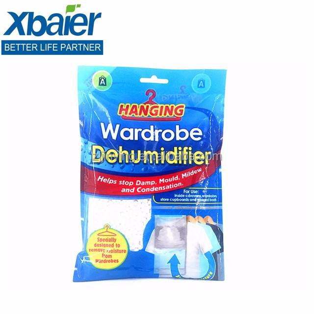 Hanging Wardrobe Dehumidifier Stop Damp Mould Mildew Condensation Cupboard Clothes 210g