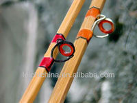 Chinese wholesale Hand made bamboo fly fishing rod