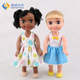 China manufacturer cartoon baby talking toy doll