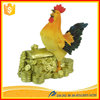 Resin folk crafts China Feng Shui Decorated chicken rooster statue