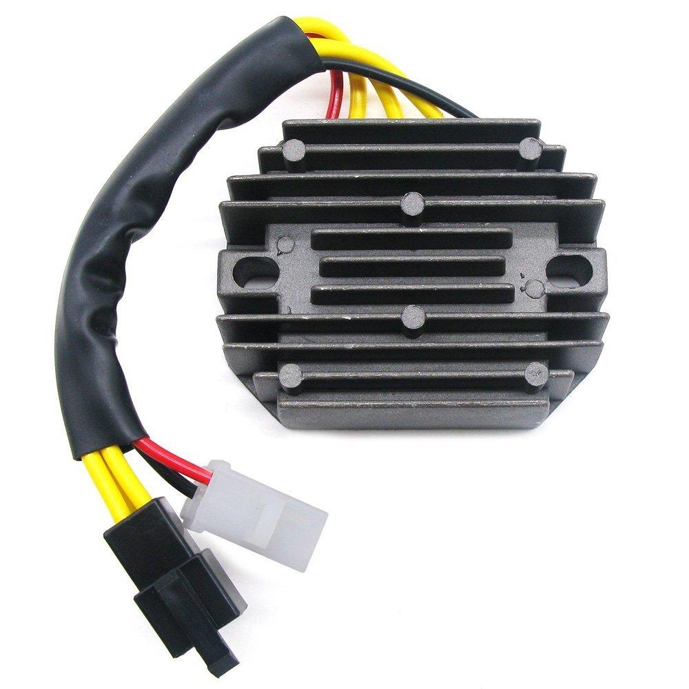 Li Bai Voltage Rectifier Regulator USA For Suzuki SV650 1999-2002 2000 2001 Motorcycle Replacement Parts Voltage Cooler System Regulator Rectifier Assembly