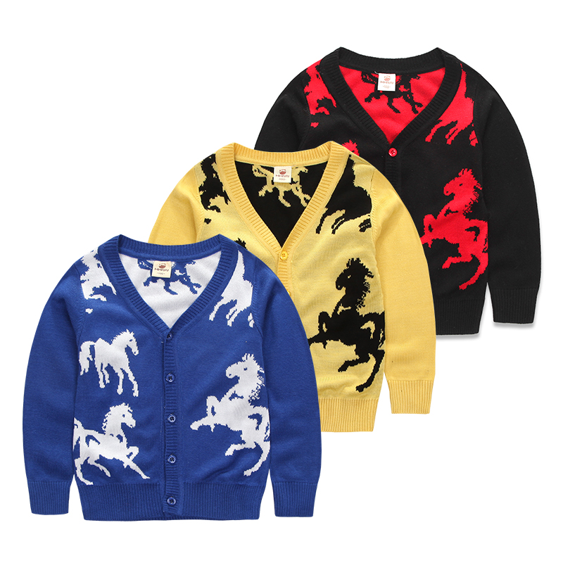 b509331ef Buy New 2015 Spring Autumn Red Baby Sweaters Kids Clothes Children ...