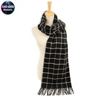 anti static embroidery dubai 100% pure knit cashmere plaid scarf shawl india turkey nepal custom for men scarf