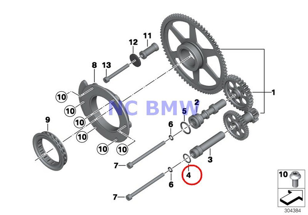 Buy Bmw Genuine Motorcycle Clutch Compression Ring K1 K100rs K1100lt