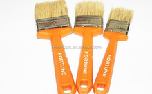 Best quality natural bristle pencil type paint brush with plastic handle