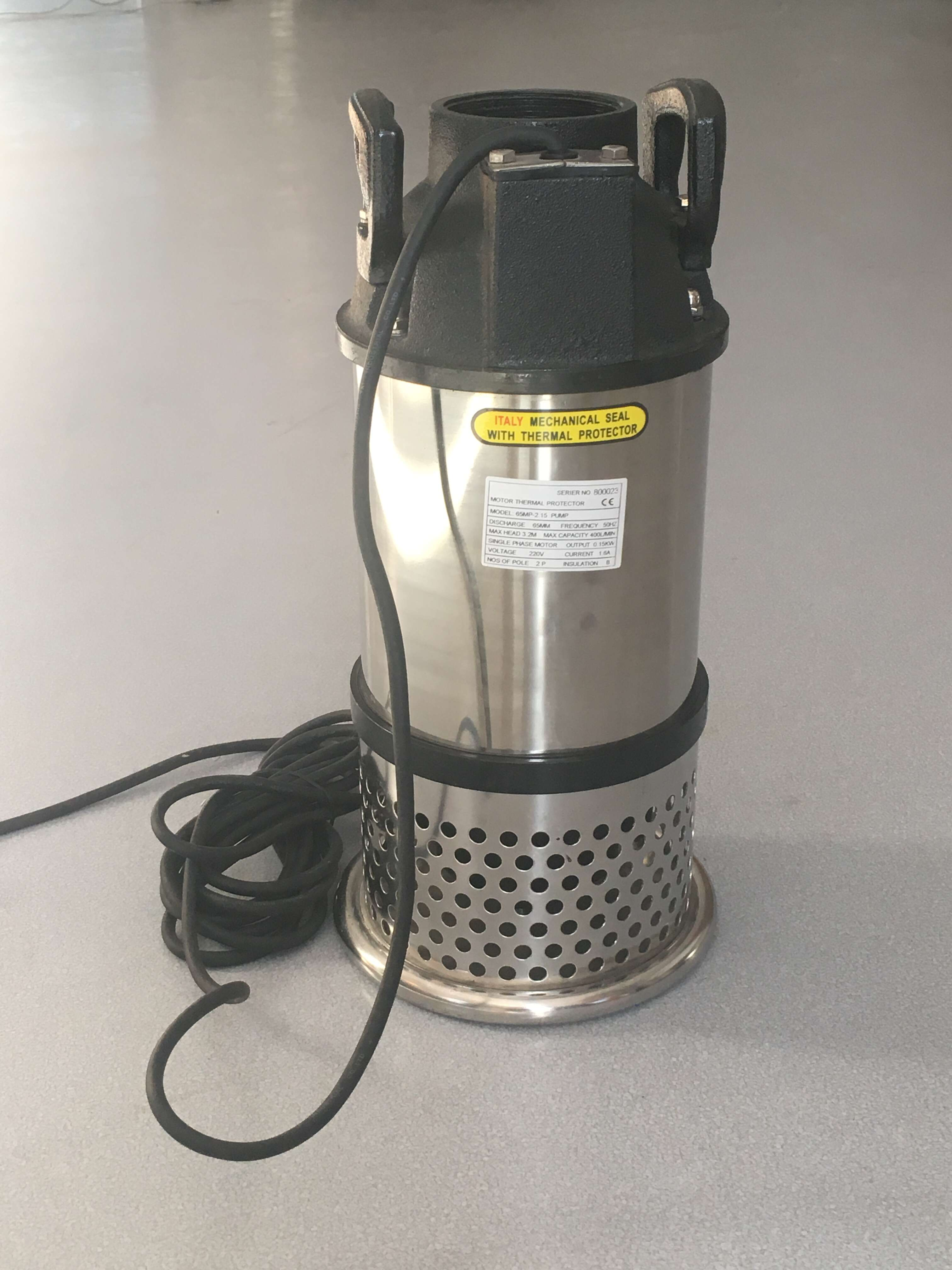 "Pakistan Electric 4 Inch Outlet 1""inch Submersible Axial Flow Pump Prices"