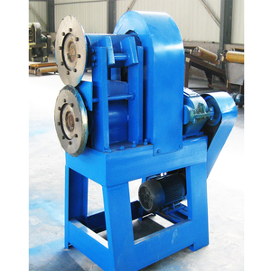 Waste Tire rubber Steel Wire Separator Used tire cutting recycling machine