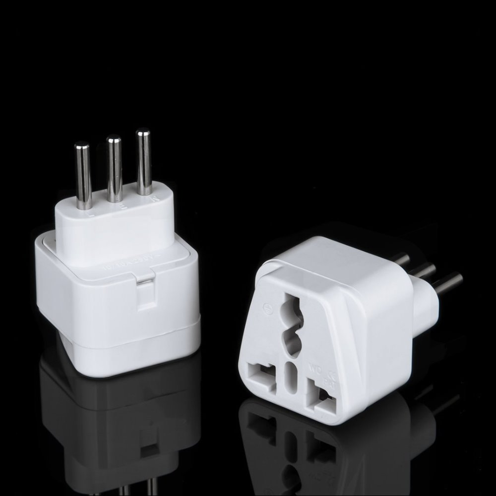 Swiss swizerland to universal to US USA AUS EU UK power adaptor plug 10A 250V