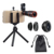 Best selling phone lens 2018 in Japan Apexel universal HD optical cellphone camera lens kit 12x zoom telephoto lens for mobile
