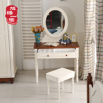 Simple Bedroom Dressing Table solid wooden simple dressing table designs with mirror and drawer