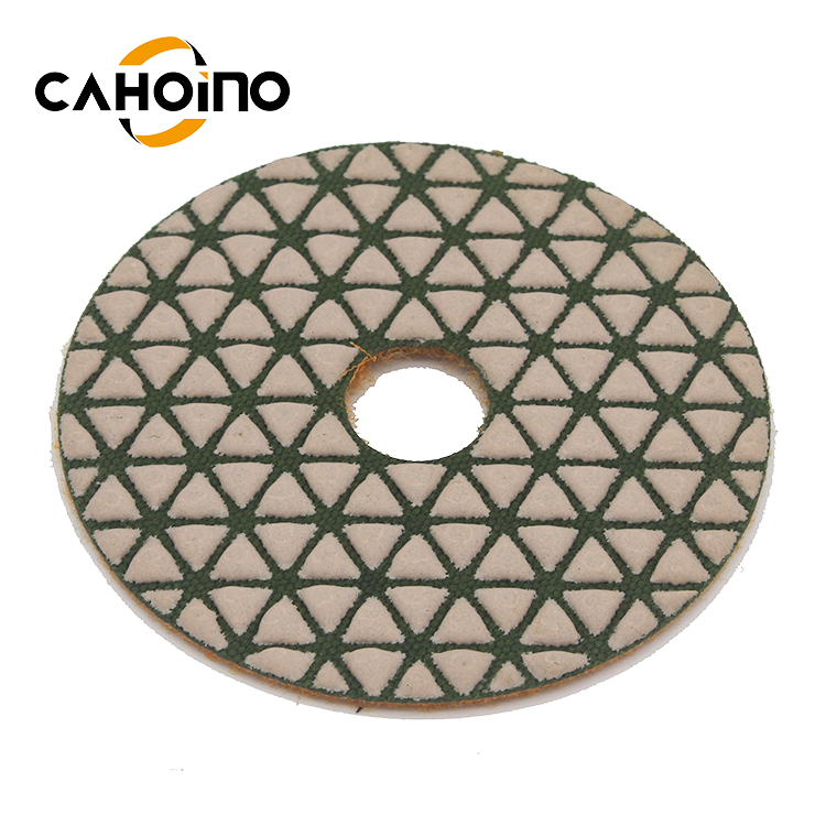 80Mm 3Inch 100Mm 4Inch Circular Dry Diamond Polishing Pad For Marble With Angle Grinder
