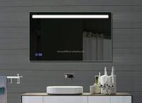 Modern Style Bathroom Led Full-length Lighting Mirror For Hotel ...