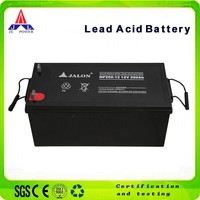12v 200ah rechargeable vrla deep cycle solar battery for solar system