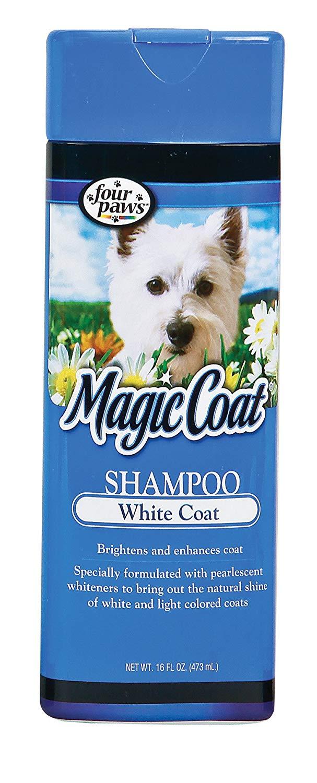 Four Paws Magic Coat White Coat Dog Grooming Shampoo, 16oz