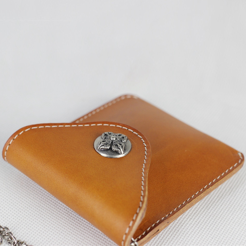 Custom Cow Genuine Leather Key Holder Case Bag Cover Key Wallet