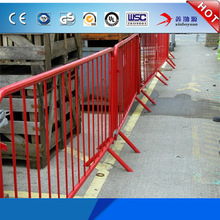Wholesale cheap price road crash galvanized temporary fence oil platform barriers