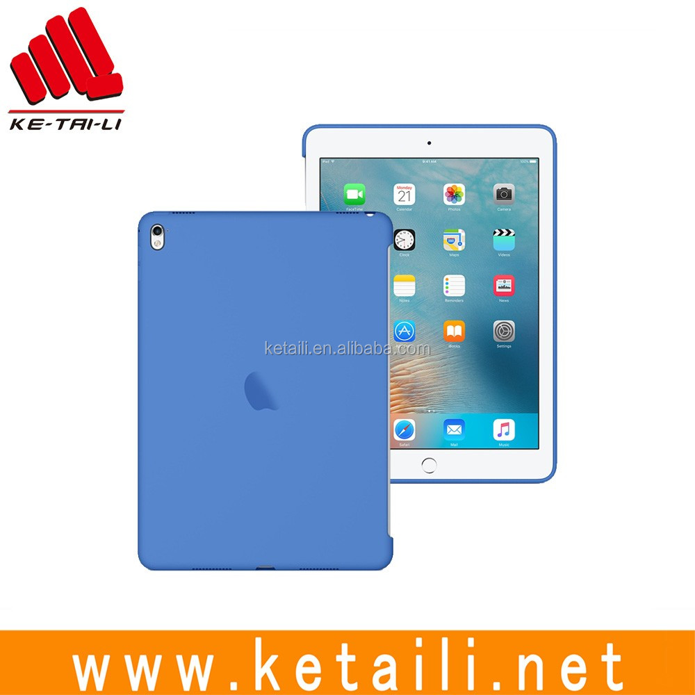For Apple iPad Pro 9.7 12.9 inch original style all colors available silicone tablet pc case cover factory