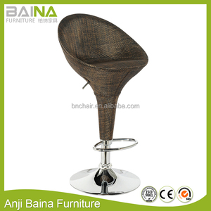cheap swivel rattan bar stools wholesale
