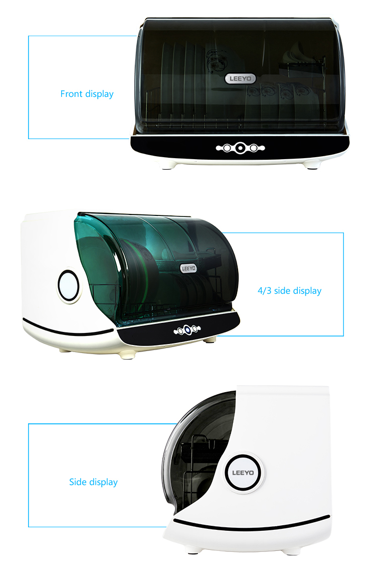 UV low temperature disinfection cabinet for underwear