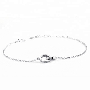 2018 sterling silver 925 diamond rhodium plated ring accessories women bracelet