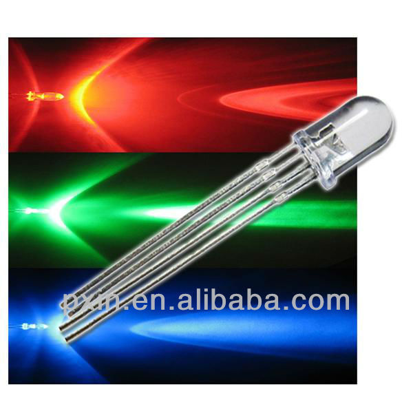 High Brightness 4 Pin 5mm Rgby Led Diode