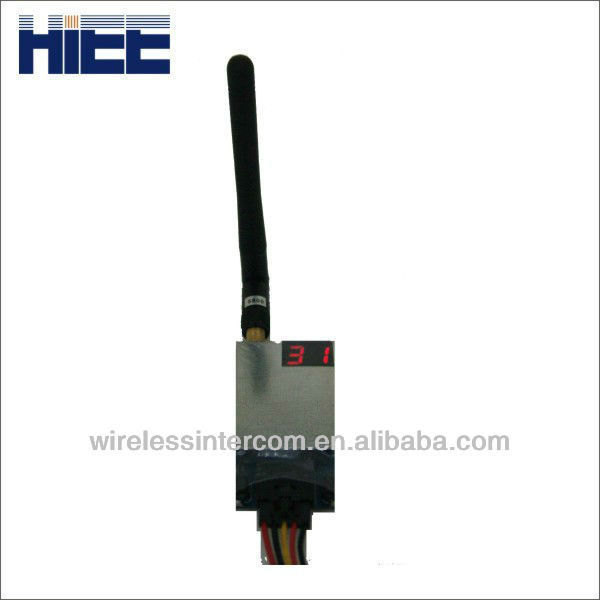 5.8 GHz 32CH Wireless Audio/Video Transmitter and Receiver with Anti-interference Feature