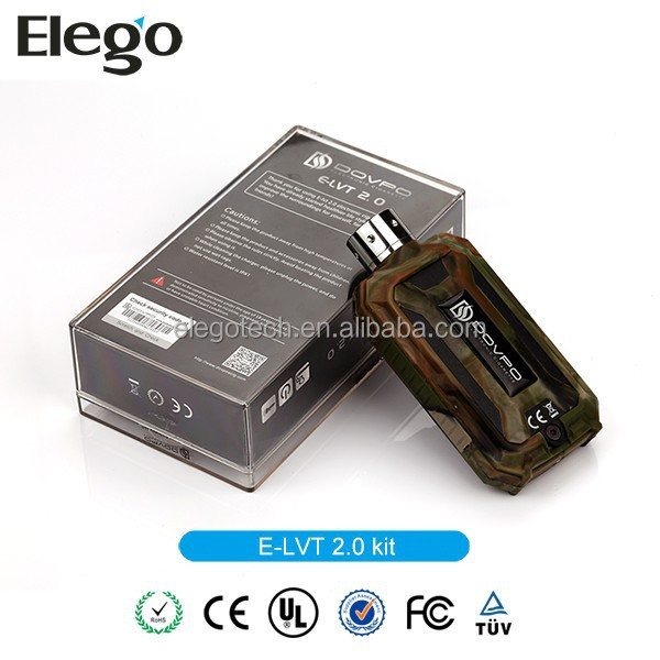 Variable Wattage Feature Dpvpo E-LVT 2.0 30W Mod Suits for 18650 Batter