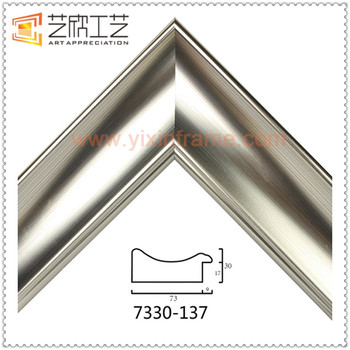 Custom 30x40 Picture Frame Shapes Silver Mirror Frame Moulding - Buy ...