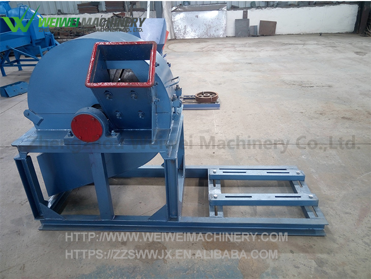 Weiwei manufacture grass corn stalk wood hammer mill