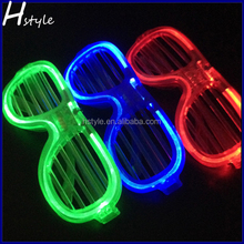 China Supplier Led Glasses Blue Green or Red Led Party Glasses SL033