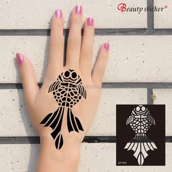 Golecha Black Henna Cone Temporary Art Tattoo Stencil Buy Tattoo