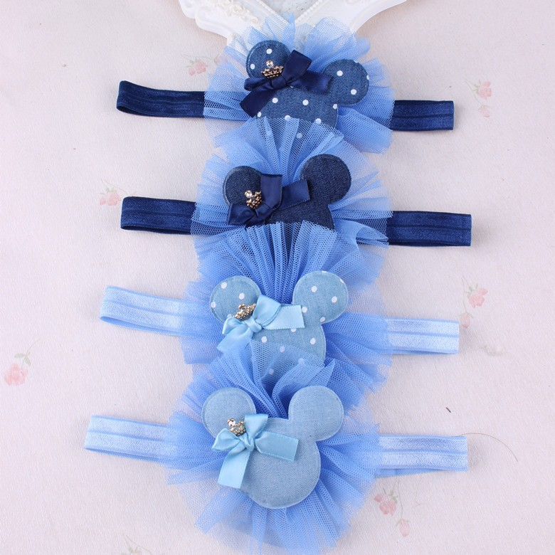 Lovely Cartoon Hairbands Cute Hair Bands Headband Mickey Rabbit Flowers Head Bands Headwear Hair Accessories For Girl
