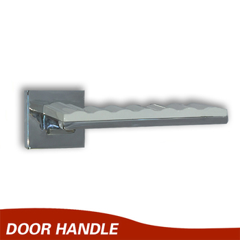 Exceptionnel Chrome Plated Wave Lever Door Handle