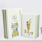 Recycled Paper Planning Notebook School Student Diary Inner Page Design
