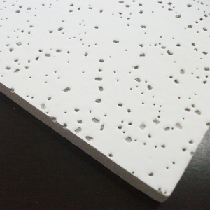 tempered pin hole acoustic mineral fibre ceiling board