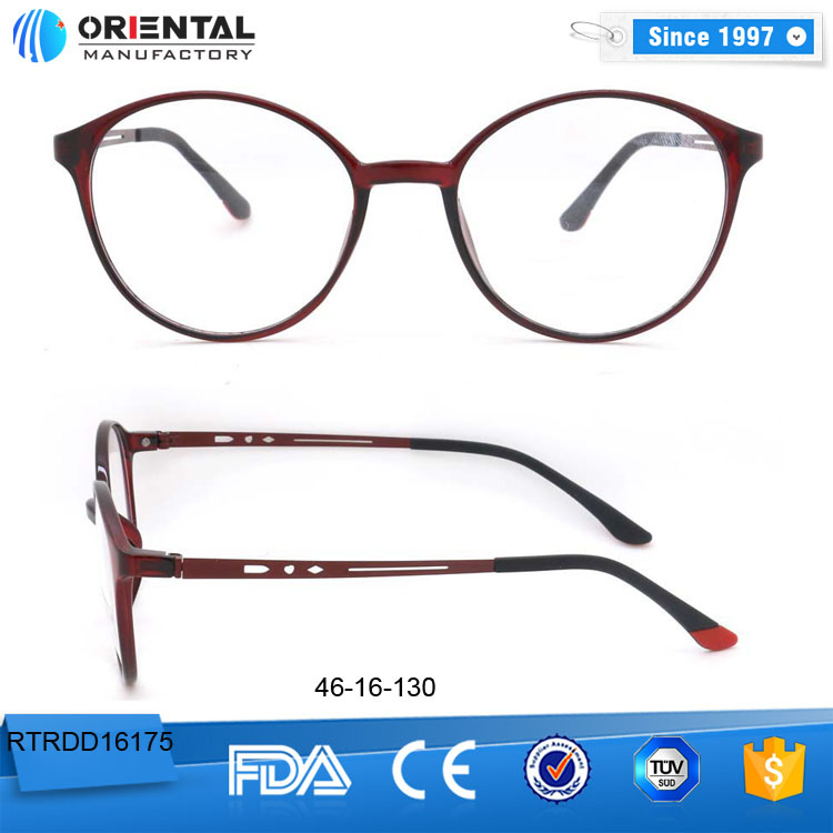 Latest Model Eye Glasses Frames, Cheap TR90 Optical Spectacle Frame Wenzhou