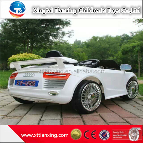 Spray paint style electric car for kids buy electric car for Motorized cars for 8 year olds