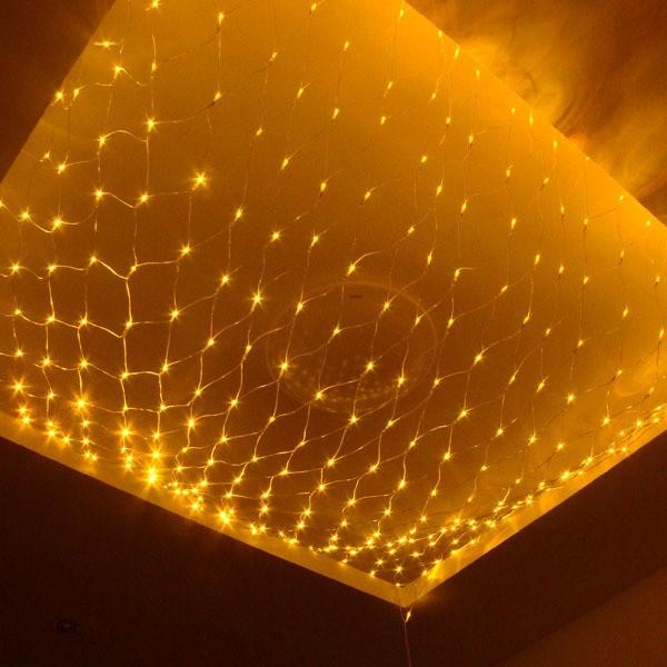 2M*3M 200 Pcs LED String Fairy Net Light Mesh Curtain