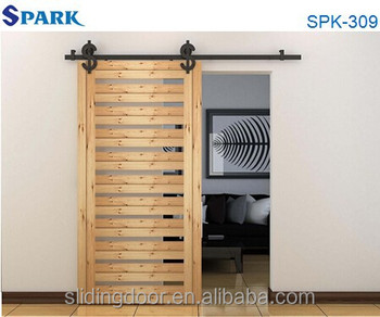 Adjustable Door Hinges Hanging Solid Wooden Sliding Closet Door
