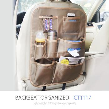 Vcantiger Adjustable Car Backseat Organizer For Car Storage View