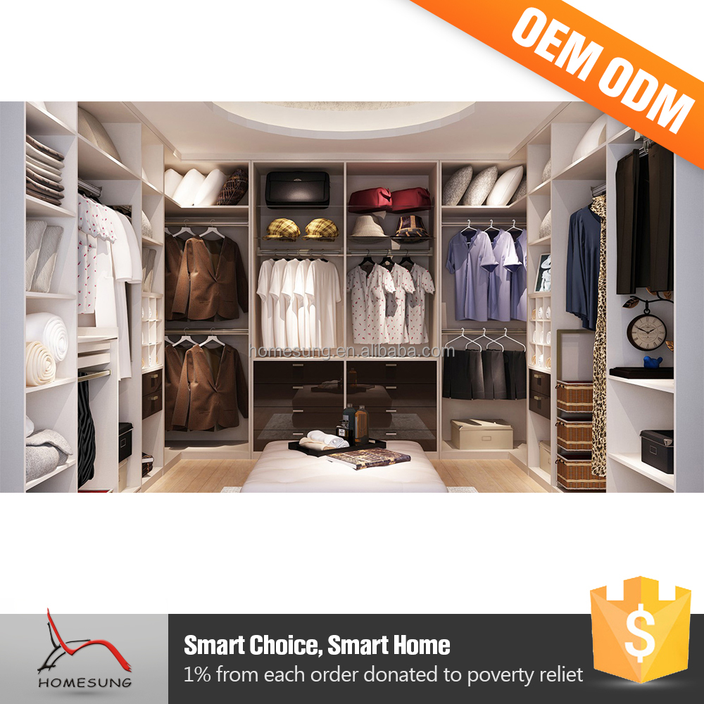 Indonesia Furniture Open Wardrobe Closet