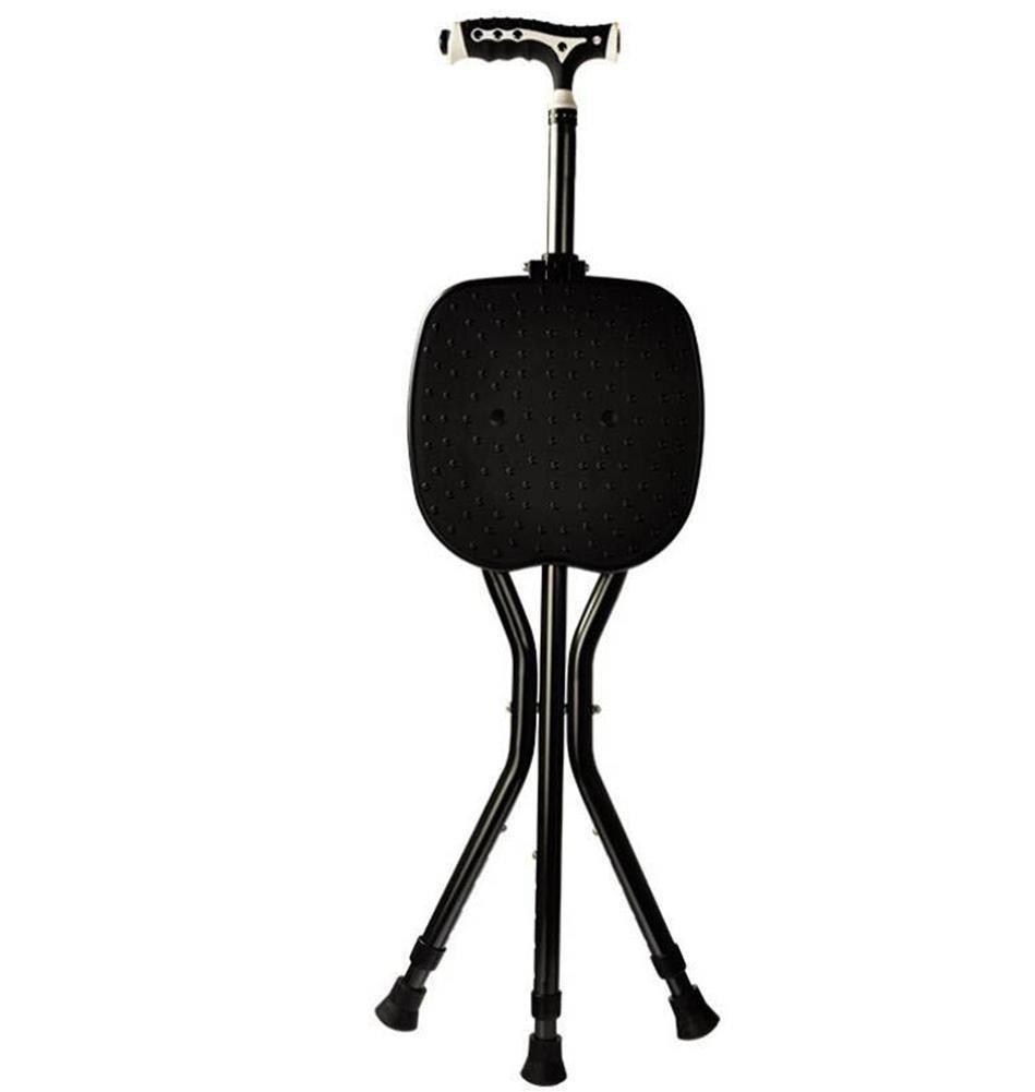 Crutch/cane/elderly walking stick/aluminum/LED/handle Telescopic surgery/three-legged walking stick