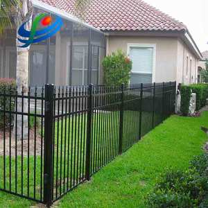 Made in China outdoor garden steel palisade fence