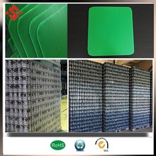 2017 Sealed Edges and Round Corners PP Corrugated sheet for Bottle packing layer pads large plasitc tray