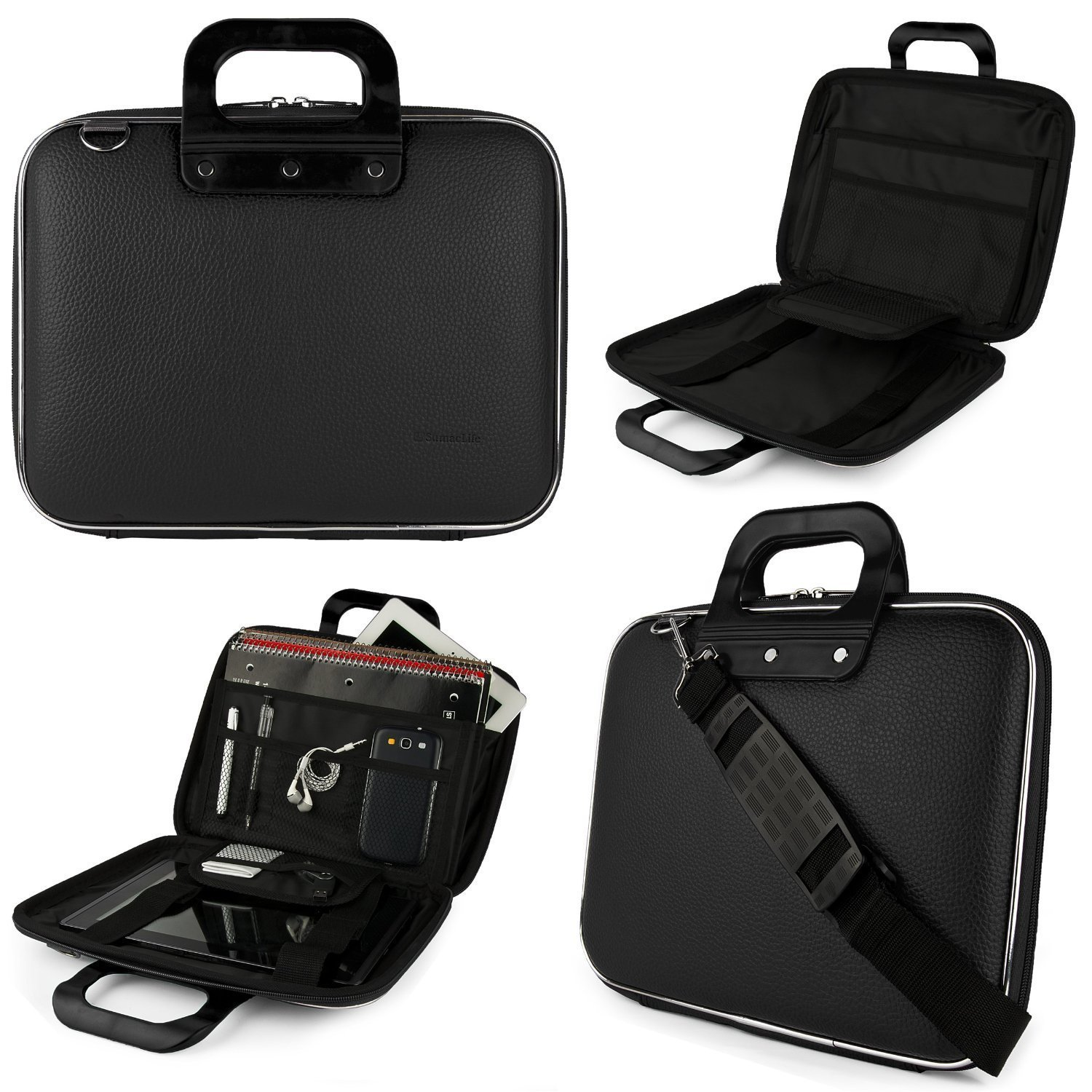"Universal Laptop Bag Messenger Bag Carrying Case 10.1""-12.5"" for Hp Pavilion / Stream / Chromebook / ProBook / Pro x2 / Acer Aspire / One / Chromebook"