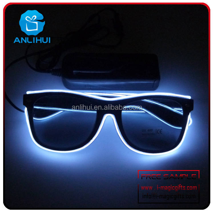 Christmas Gifts ,Promotional Gifts,Carnival Promotional LED Flashing Sunglasses