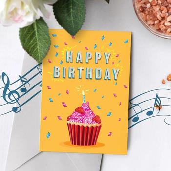 High Quality Electronic Greeting Cards Happy Birthday Voice