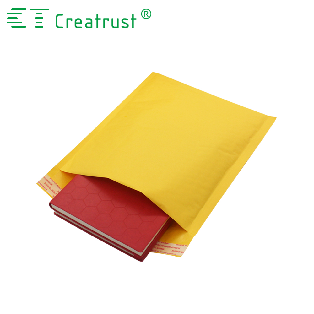 Kraft bubble padded envelope peel & seal strip Mailing online shipping plastic bag